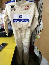 Aryton Senna Kart race suit CIK/FIA Level 2 approved