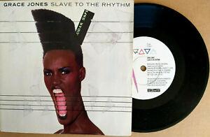 "GRACE JONES ► SLAVE TO THE RHYTHM - 45 Tours / 7"" Vinyle ZTT"