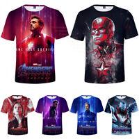 Endgame I Am Iron man Tony Stark Tee 3D Hoodie Sweatshirt Cosplay Hot Avengers