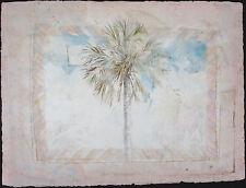 William BAGGETT JR, Original Watercolor, Above the Sawgrass Flat, Signed