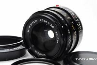 EXC+++MINOLTA M-ROKKOR 28mm f/2.8 for Leica Leitz CL CLE RF from Japan