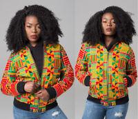 Fashion women Autumn And Winter Long Sleeves Print Casual Clubwear Dashiki Coat