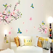 Plum Blossom Flower Birds Removable PVC Wall Sticker Home Art DIY Decals Decor