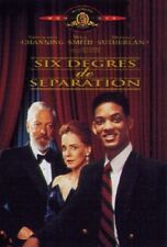 Six degrés de séparation DVD NEUF SOUS BLISTER
