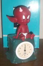 Hot Stuff - Horloge - Statuette résine - Démons et Merveilles