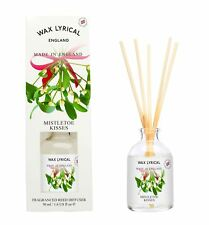 Wax Lyrical 50ml Reed Diffuser Mistletoe Kisses Festive Fragrance