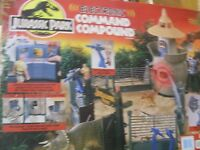 Vintage Jurassic Park Electronic Command Compound by Kenner 1993 SEALED MISB
