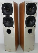 Rare (PAIR) Tannoy Hi-End Tower Speakers Saturn S8 (Champagne)