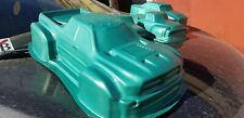 Unbreakable body for Traxxas XMaxx Dodge Ram in Green!! With Stikers!!!