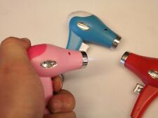 1PC Authentic blowing model mini hairdryer windproof creative butane lighters