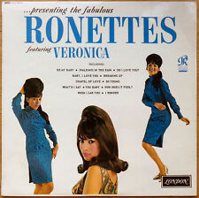 LP - MONO - 1964 - RONETTES-PRESENTING THE FABULOUS RONETTES FEATURING VERONICA