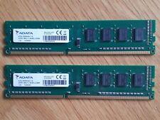 ADATA 8GB RAM (2 x 4GB) - DDR3 - 1600MHz - AD3U1600W4G11-S