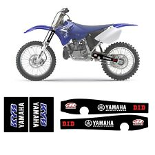 NEW SWING ARM & UPPER FORK GRAPHICS YAMAHA YZ 125-250 2002-2018  D.I.D- MAXIMA