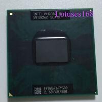 Intel Core 2 Duo T9500 2,6 GHz Dual-Core 6M 800MHz Prozessor Sockel P CPU