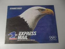 "Express Mail Envelope - Extremely Urgent - 12"" X 15"" Bald Eagle - Jan 1991"