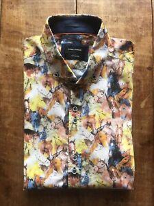 Guide of London Horse Print Cotton Shirt