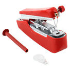 High quality Red Useful Portable Cordless Mini Hand-Held Clothes Sewing Machine