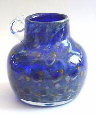Karl Wiedmann Vase Gral WMF Blau Pfauenauge