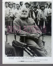 VINTAGE PHOTO 1984  Director John Schlesinger The Falcon And The Snowman