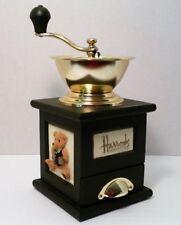 Harrods Knightsbridge Rodney Bear Coffee Mill Manual Grinder London, England
