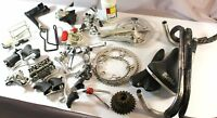 29 pcs Vintage Race Bike LOT STOCK MIXED PARTS CAMPAGNOLO SHIMANO MICHE
