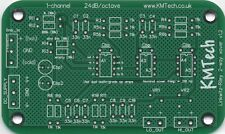 NEW ! LR mono 2-way active filter by KMTech PCB DIY BALANCED/UNBALANCED INPUT