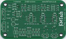 ! nuevo! LR Mono 2-way Filtro Activo Por KMTech PCB hágalo usted mismo balanceado/no balanceado de entrada