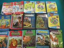 Leap Frog Leap Pad Interactive Books and Cartridges Lot of 45 Different