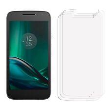 2 x Clear LCD Screen Protector Pellicola Risparmiatore Per Cellulare Motorola Moto g4 Play