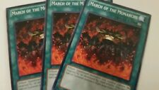Yugioh March Of The Monarchs 3x various sets - Common Playset Nm