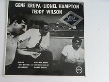 Gene Krupa, Lionel HAmpton, Teddy Wilson Verve Germany LP