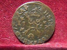 monnaie belgique Pays bas Espagnol Anvers Philippe II Gigot 1597 Qualité !!!