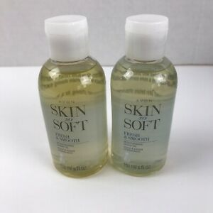 Lot Of 2 Avon Skin So Soft Fresh & Smooth Moisturizing Shave Oil 5 oz New