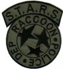 Resident Evil S.T.A.R.S Raccoon Police Olive Logo Patch, NEW - US seller