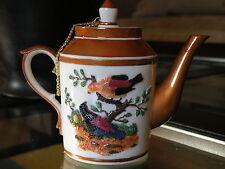 New! Nini 6-19 Paris Birds Decorative Collectible Resin Mini Teapot Trinket Box