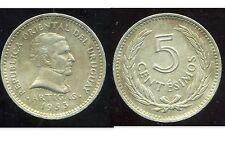 URUGUAY  5 centimos 1953  ( bis )