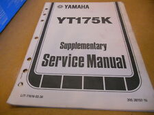 1983 Yamaha YT175 K Supplementery Service Manual 17 Pages