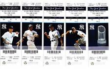 Alex Rodriguez Home Run 591 Yankees 6/3 Ticket Stub HR