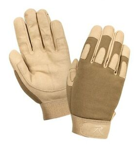 Rothco 3421 Men's Lightweight All Purpose Gloves -Coyote Tan