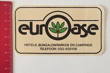 Aufkleber/Sticker: Euro Oase / Euroase-Hotels Bungalowparken Campings(120616100)