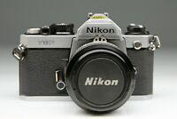 Nikon FM - 2 n Chrome + Nikkor 50/1,4 AI
