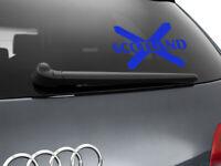 Scotland Flag Car Sticker Styling Decal Scottish Flag, Blue