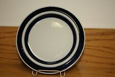 "Vintage ARABIA FINLAND ULLA PROCOPE ANEMONE BLUE 6-1/4"" Bread Plate - Have 8"