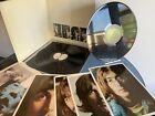 THE BEATLES WHITE ALBUM 1st UK 1968 PRESS TOP OPEN -1 NO EMI X4 PHOTOS POSTER EX