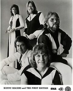 """Kenny Rogers / first edition 10"""" x 8"""" Photograph"""