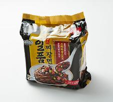 Korean Instant Black Bean Sauce Noodle PALDO ILPUM JAJANGMYEON 4pack Set