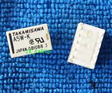 10pcs A5W-K RELAIS TAKAMISAWA RELAY 2X UM 5V AUDIO SIGNAL DIP-10