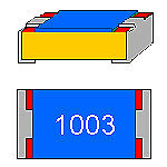 50 X Widerstand 100k 0.063w 1 0402 SMD MPN CRCW0402100KFKED Vishay