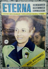 Eterna Magazine Eva Peron Evita Full Of Images And Information