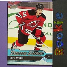 MILES WOOD  RC  2016/17  UD Young Guns  #453  New Jersey Devils  YG  ROOKIE